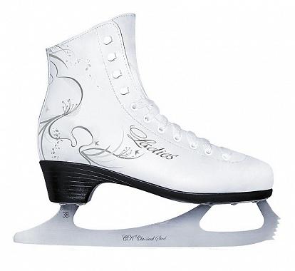 Купить Фигурные коньки СК Ladies Lux leather,