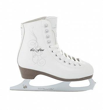 Купить Фигурные коньки СК Le Fleur 100% Leather,