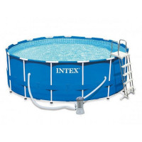 Бассейн каркасный Intex Metal frane 457х122см 28242