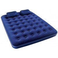 Надувной матрас Bestway Flocked Air Bed With Air Pump(Queen) 203х152х22 см 67374