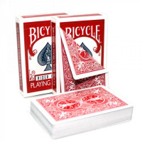 Карты Bicycle Double Back Red 1019707