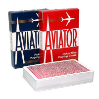 Карты Аviator Jumbo Index Red & Blue 1000876