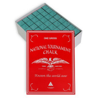 Мел Silver Cup National Tournament Chalk 144шт 07596 Green