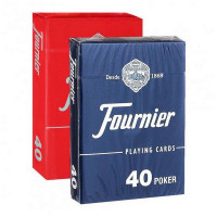 Карты Fournier no 40 (2 standard index) red/blue F21645