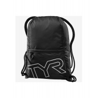 Рюкзак TYR Drawstring Backpack, LPSO2/001, черный