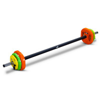 Штанга для аэробики Makfit Body Pump 20 кг MAK-BP