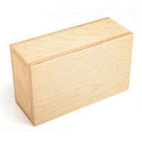Блок для йоги Hugger Mugger Wood Block (дерево) 3,5
