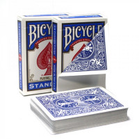 Карты Bicycle Blank Face Blue Back 1019709