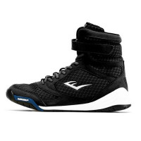 Боксерки Everlast Pro Elite High Top черн/бел. P00001075 BK/WH