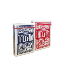 Карты Tally-Ho Standart Index red\blue Fan 1006704