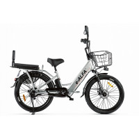 Велогибрид Green City e-ALFA Fat 022302-2161 серебристый