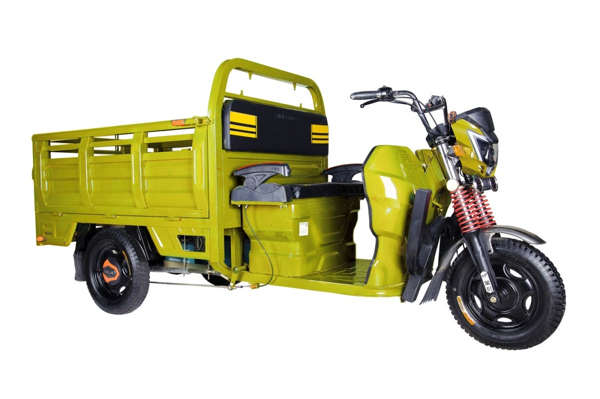 Купить Трицикл RuTrike Антей-У 1500 60V1200W желтый,