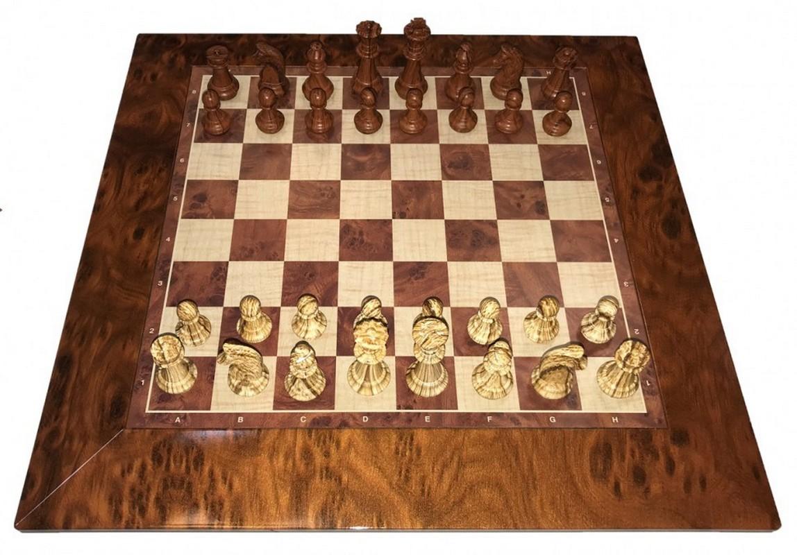 Купить Шахматы-шашки магнитные пластиковые ЛЮКС (под дерево) c цельной доской 31 см N1802, NoBrand, Шахматы, шашки, нарды