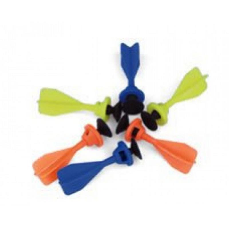 Стрелы-липучки для детских арбалетов 12 шт. ManKung MK-TBS/VCRO