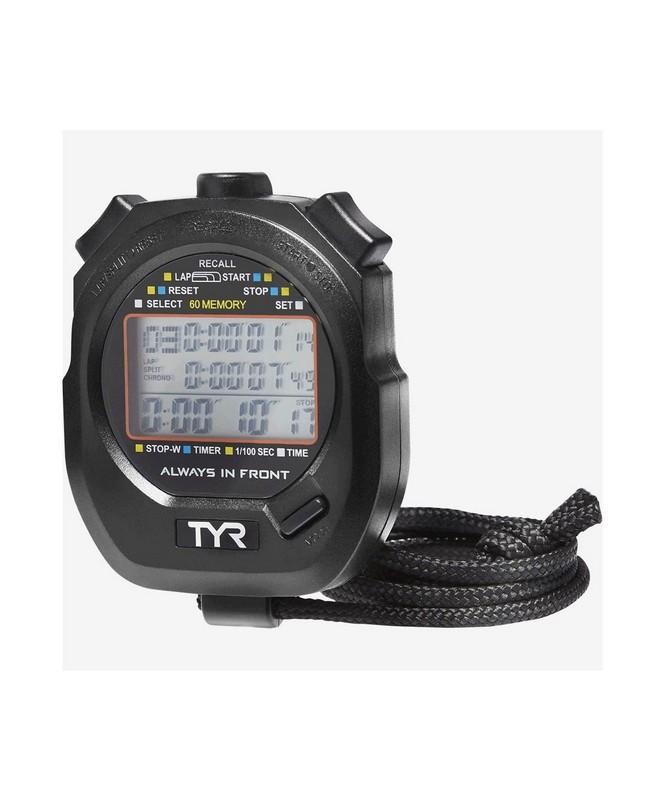 Купить Секундомер TYR Z-200 Stopwatch, LSWSTOP01 черный,