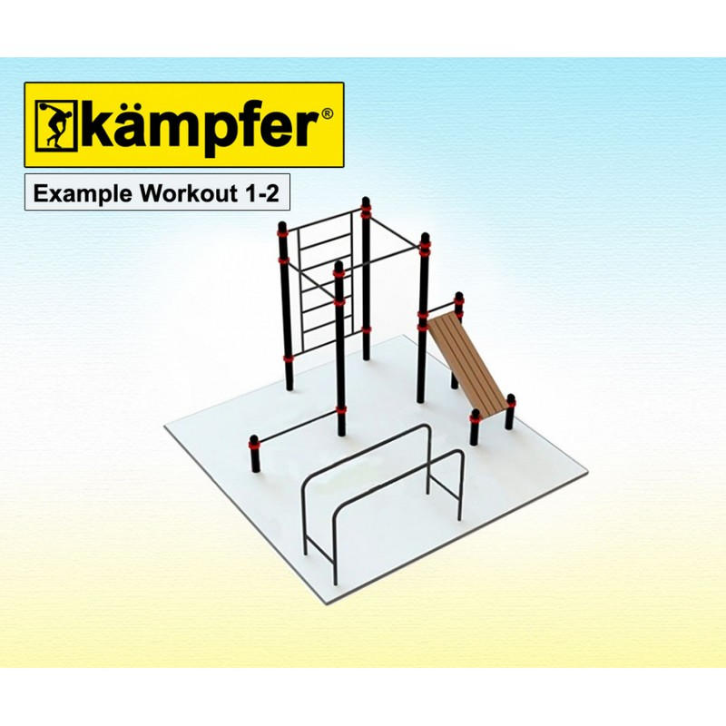 Воркаут площадка Kampfer Example Workout 1-2 от Дом Спорта
