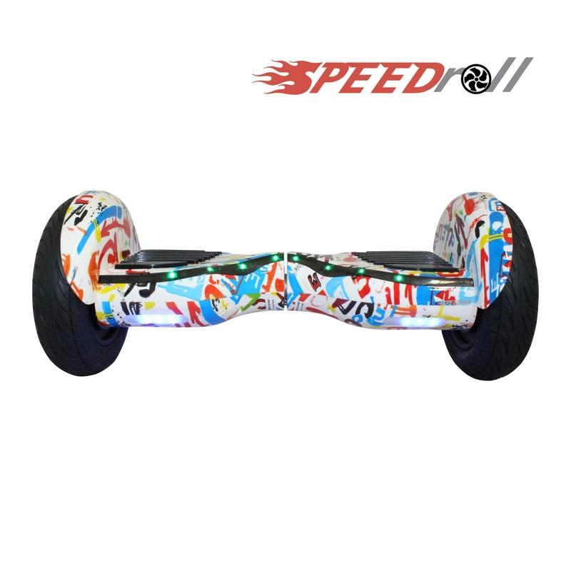 Гироскутер SpeedRoll Premium Roadster 08 APP Граффити