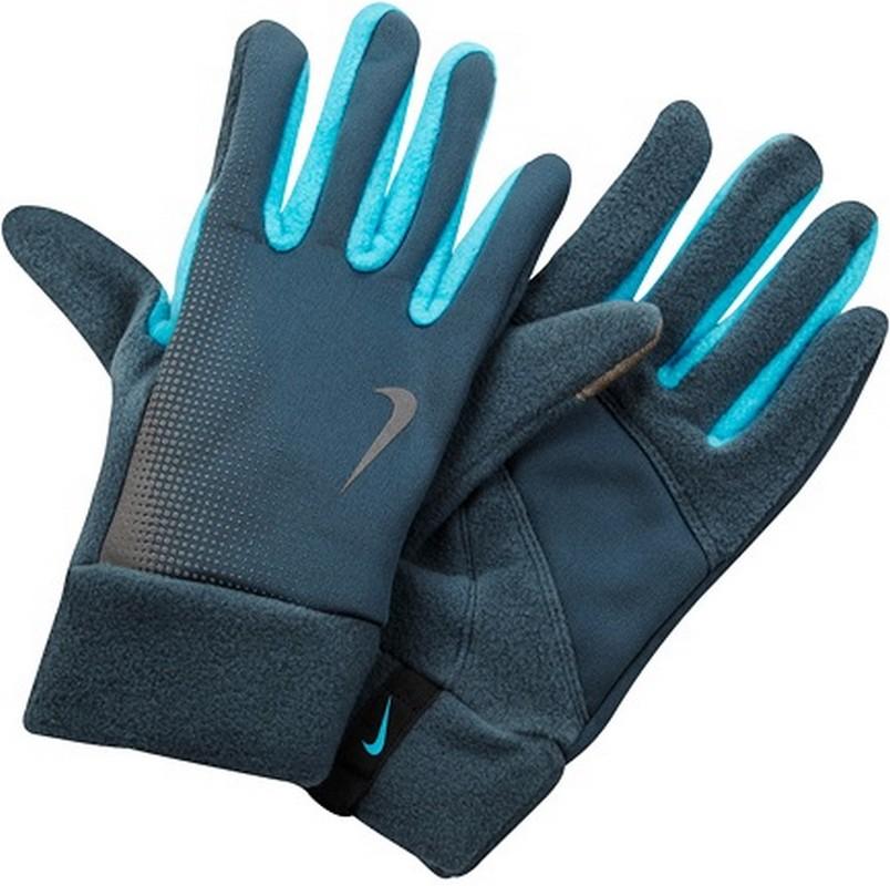 Перчатки для бега Nike Men'S Tech Thermal Running Gloves Armory Slate/Blue Hero nike nike rally running gloves