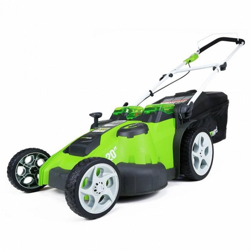 Газонокосилка аккумуляторная Greenworks 2500207 G-MAX 40V 49 cm 3-in-1 без АКБ и ЗУ