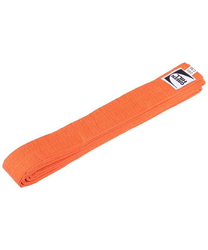 Купить Пояс для единоборств Green Hill KBO-1014, 5/280, оранжевый,
