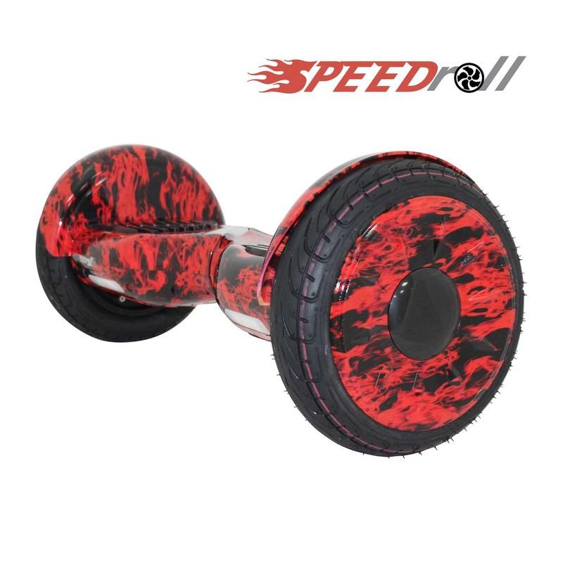 Гироскутер SpeedRoll Premium Roadster 08 APP Красный огонь