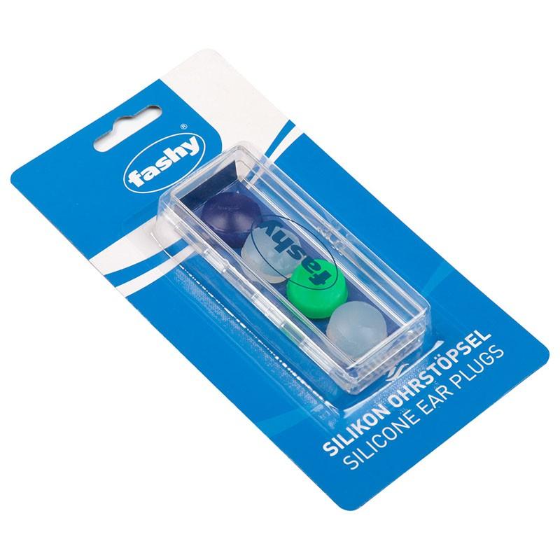 Беруши Fashy Silicon Ear Plugs 4шт, силикон 4021 мультиколор беруши fashy silicon ear plugs for self forming