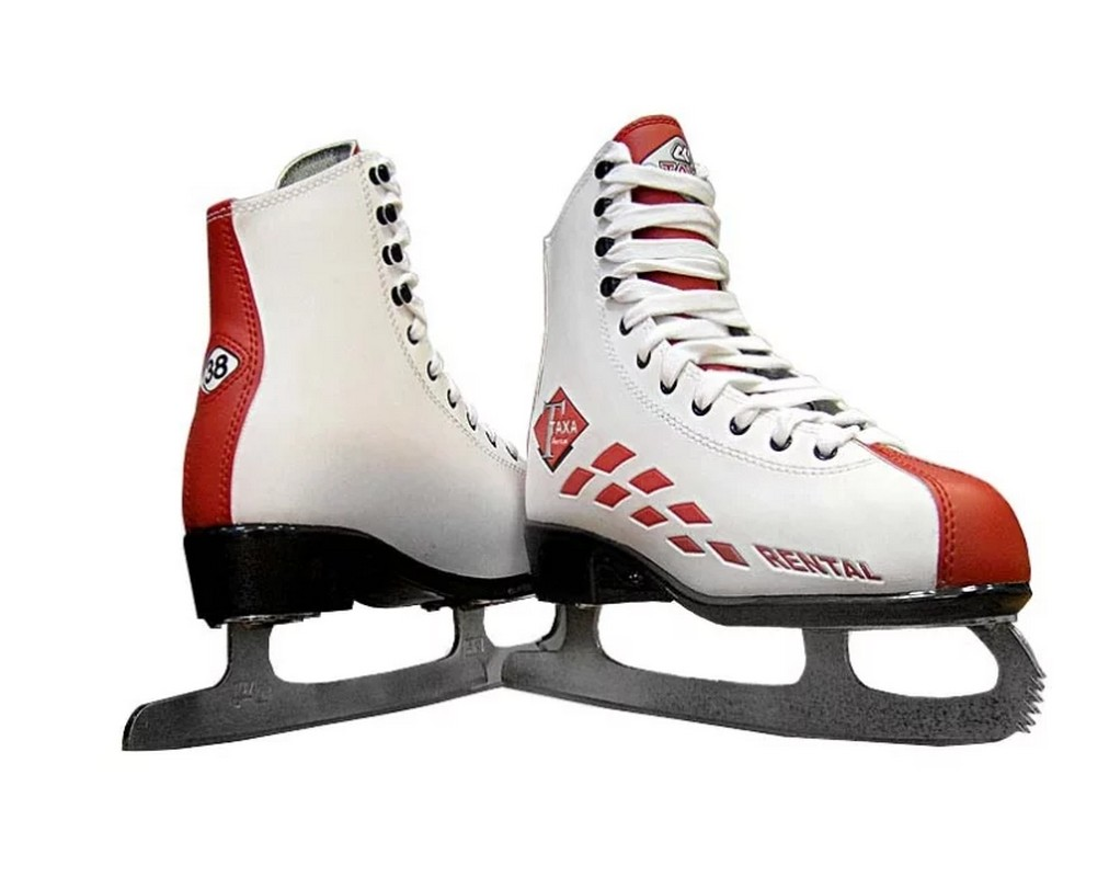 Фигурные коньки TAXA Rental RF-2 Profy коньки larsen коньки фигурные red flake