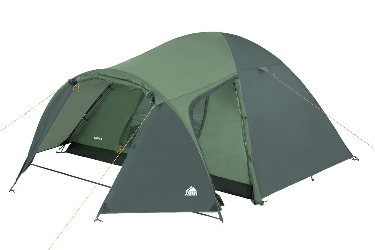 Походная палатка Trek Planet Lima 4 зеленый