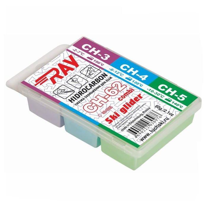 Купить Набор углеводородных парафинов Ray (ЛУЧ) Combi (-2°С -30°С) 60 г. CH62,