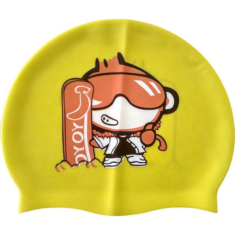 Купить Шапочка для плавания детская (силикон) C33210-3, NoBrand
