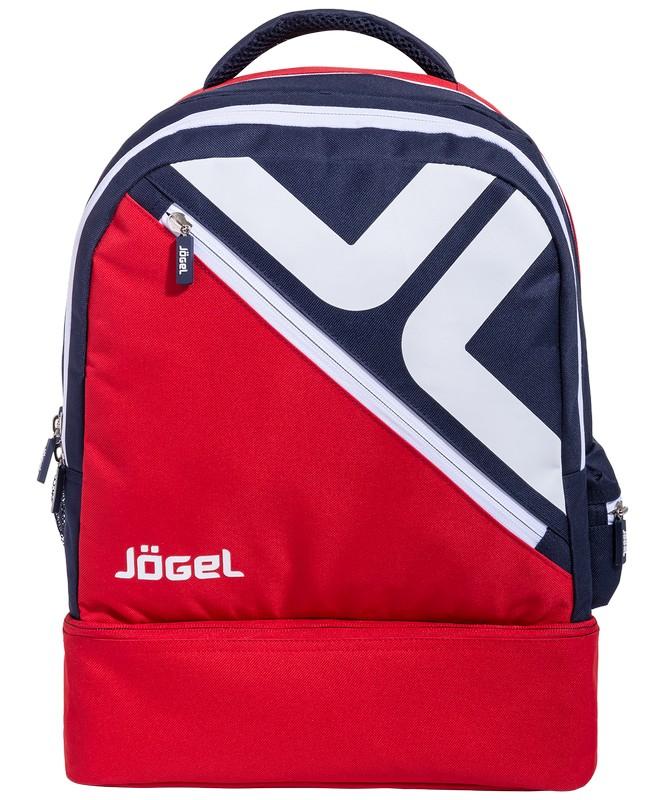 Рюкзак J?gel JBP-1903-291 красный\темно-синий\белый, L