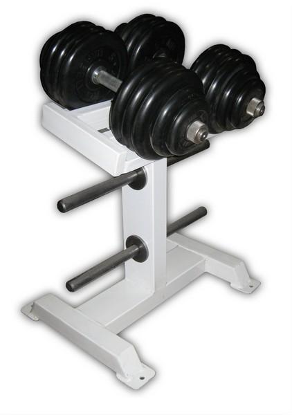 Купить Гантели ProfiGym обрезиненные, 40 кг в наборе, пара (26 или 31 мм),