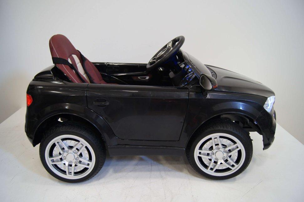 Купить Электромобиль River-Toys BMW O006OO VIP с пультом ДУ Чёрный, Детские электромобили