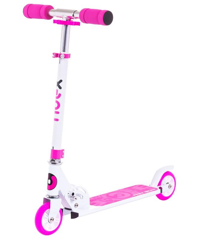 Купить Самокат 2-х колесный Ridex Sonic 100 мм, розовый,