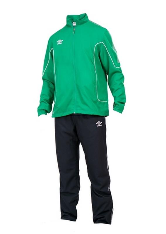 Костюм спортивный Umbro Prodigy Team Lined Suit мужской 460215 (461) зел/чер/бел.