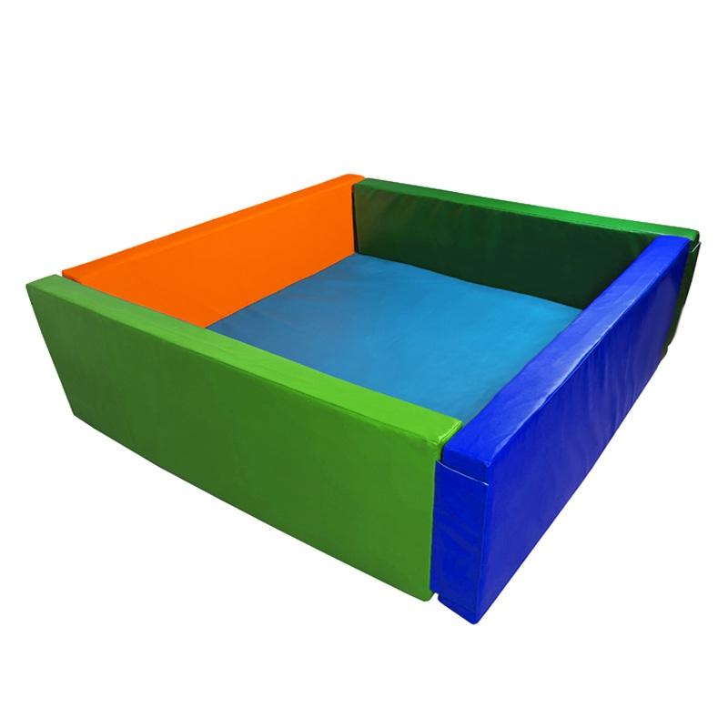 Купить Сухой бассейн квадратный 2000х2000х600х100 мм (наполнитель холлослеп/холлофайбер) Dinamika ZSO-003058, Сухие бассейны