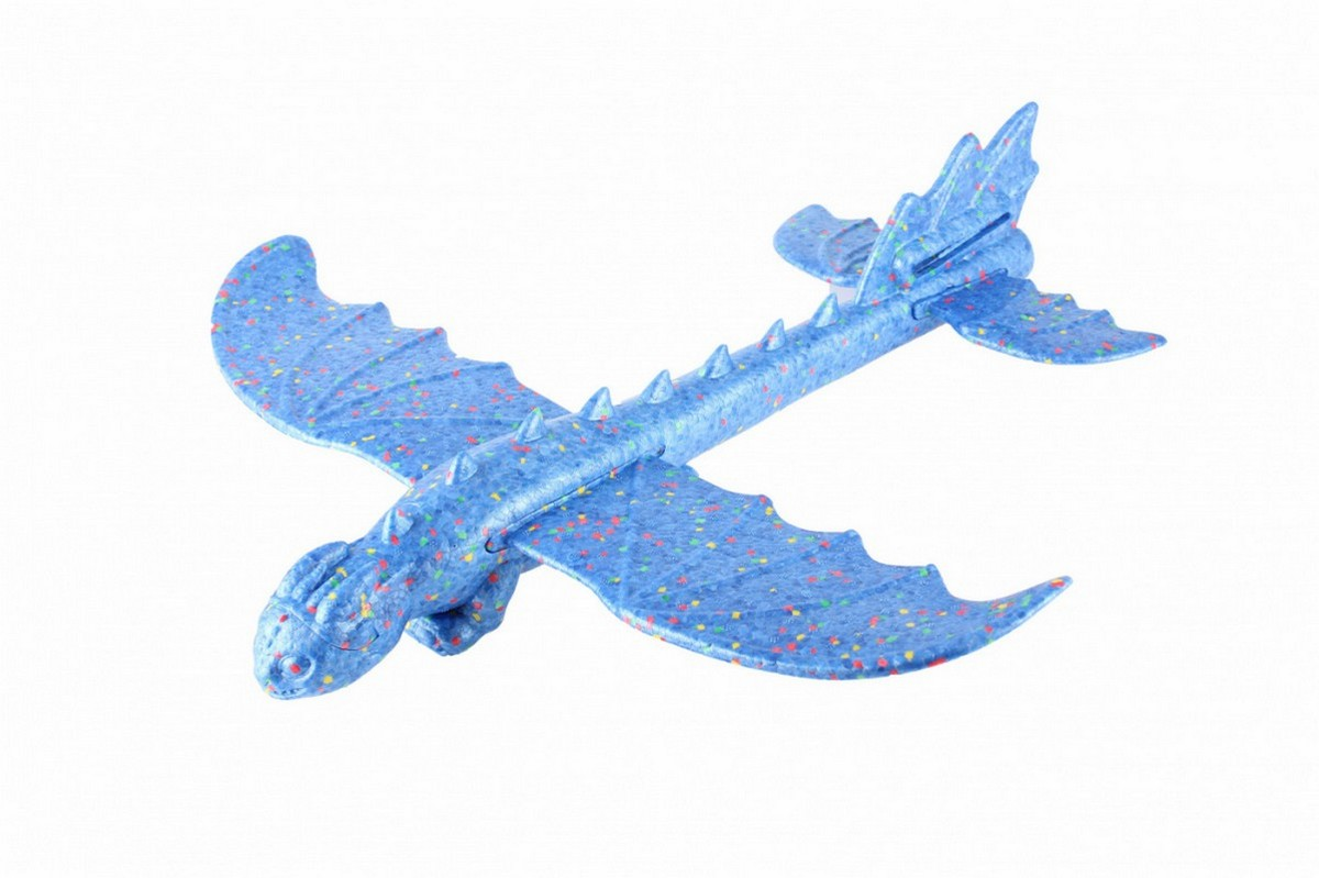 Купить Воздушный змей Bradex Дракон DE 0445 синий,