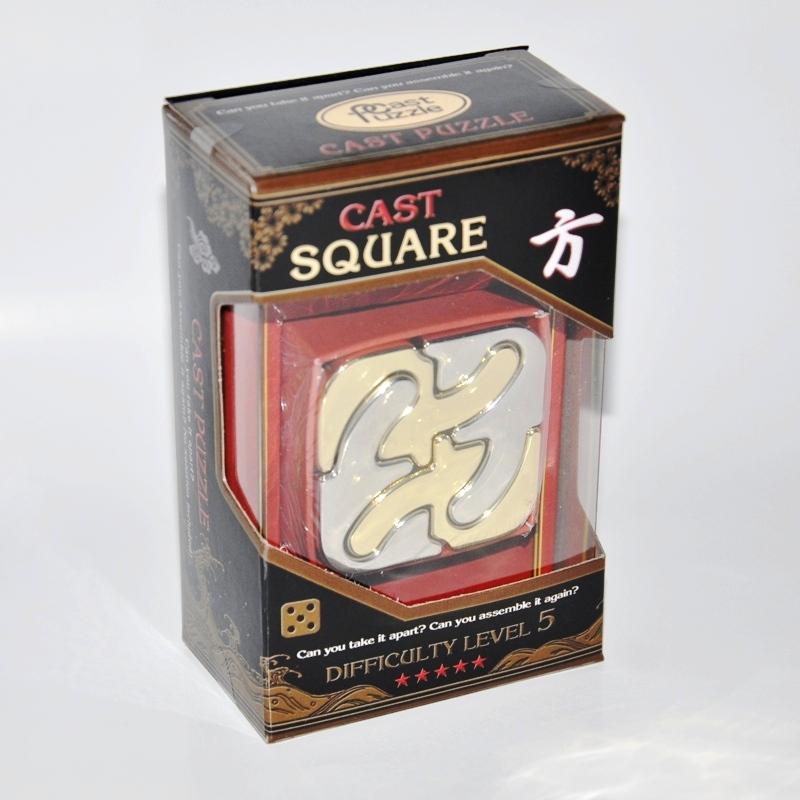 Купить Головоломка Каре*****/ Cast Puzzle Square*****, NoBrand
