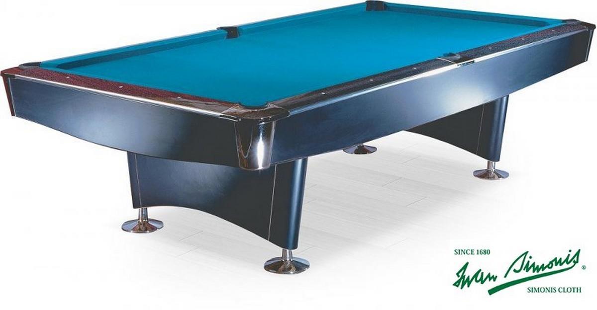 Бильярдный стол для пула Reno 9 ф черный
