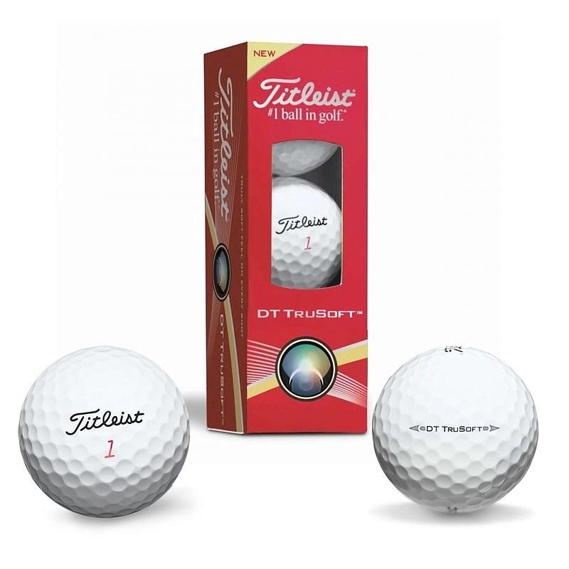 Мяч для гольфа Titleist DT TruSoft T6032S-NP мяч для гольфа callaway nk volvik