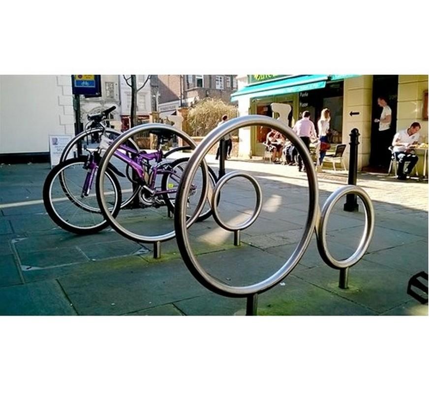 Купить Велопарковка из нержавейки Велосипед Нео Hercules 5670,