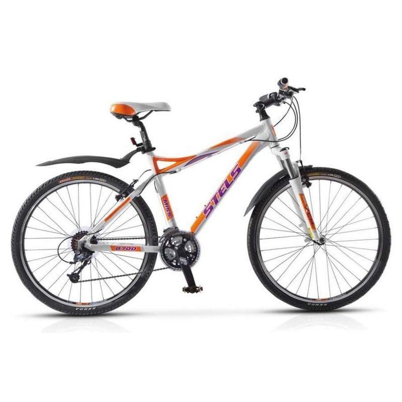 Купить Велосипед Stels Miss-8700 V Оранжевый/Белый (14 г) (LU057932) 24994,