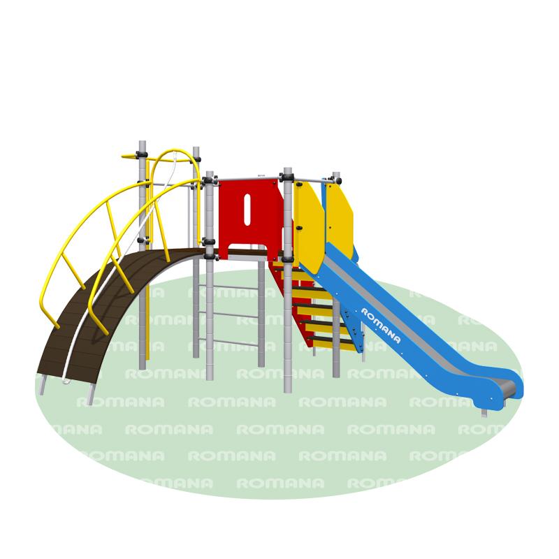 Купить Игровой комплекс Romana 101.77.00, ДСК для улицы