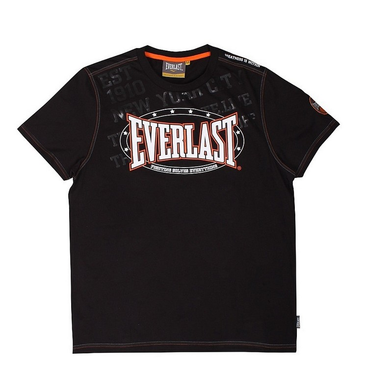 Футболка Everlast Premium Sports черный EVR9017 BK футболка wearcraft premium slim fit printio шварц