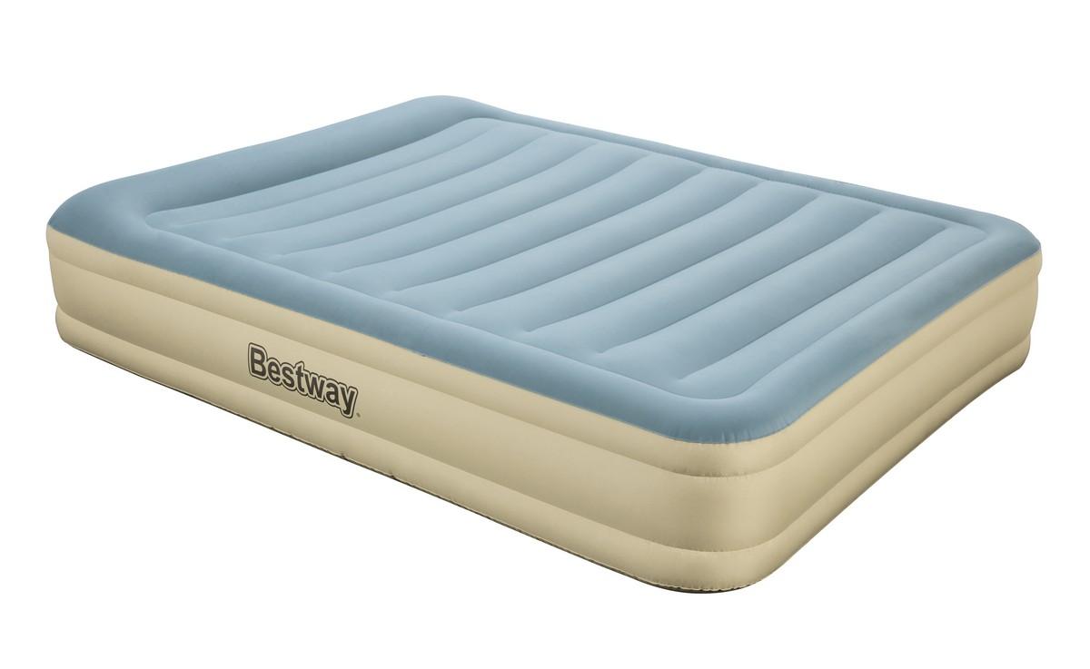 Надувная кровать Bestway Essence Fortech 203х152х36см, встроенный электронасос 69007