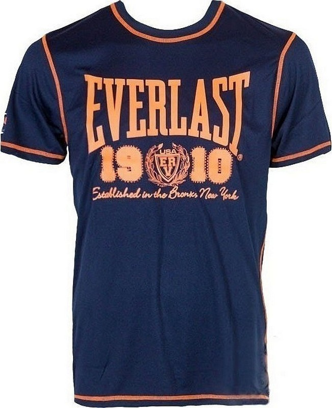Футболка Everlast Sports Brights 1910 синий EVR8850 NAV