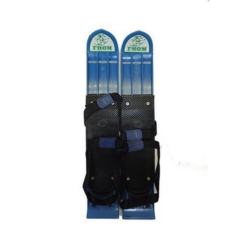 Мини-лыжи Гном мини лыжи большие из морозостойк пластика с 2мя текстил ремешками 41см