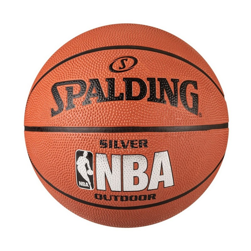 Купить Мяч баскетбольный Spalding NBA SILVER Series Outdoor р.7,