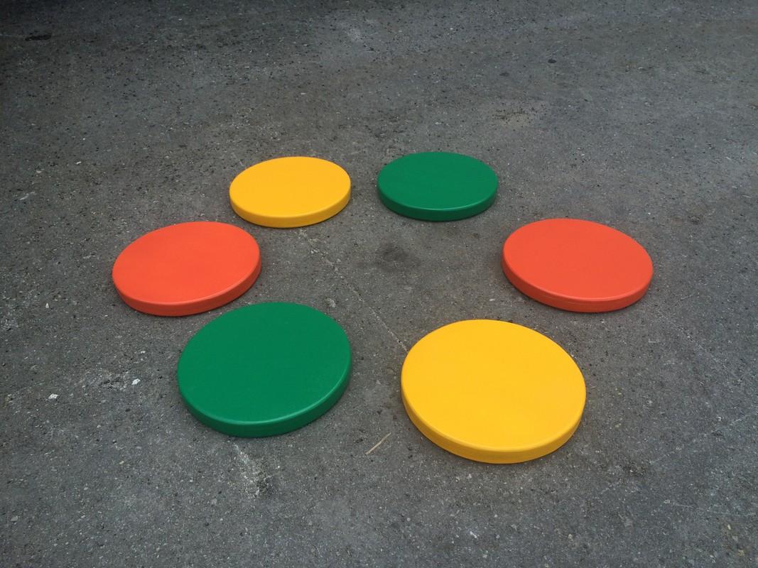 Купить Диски цветные амортизационные деревянные ФСИ комплект 6шт, 10297,