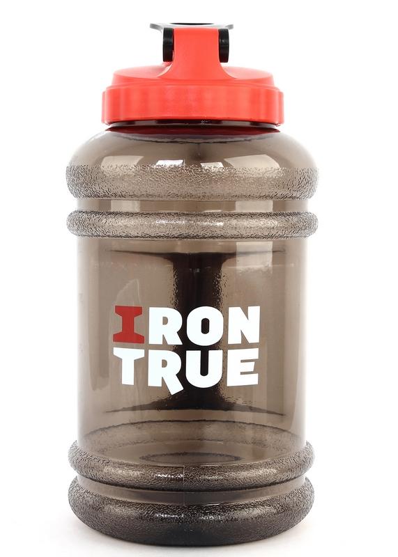 Бутылка 2,2л ITB941-2200 красно/черный бутылка гантеля спортивная irontrue цвет зеленый 2 2 л